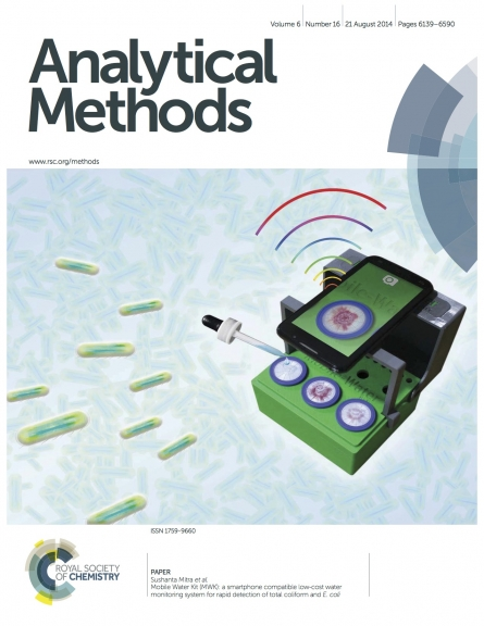 Mobile Water Kit (MWK), Cover article for Analytical Methods